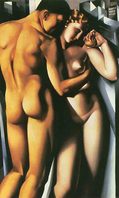 Adam and Eve Tamara de Lempicka